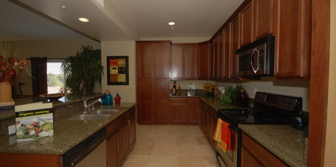 Pv kitchen Plaza Village Senior Living