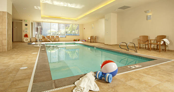 Seattle senior living indoor pool at The Ballard Landmark at GenCare Community