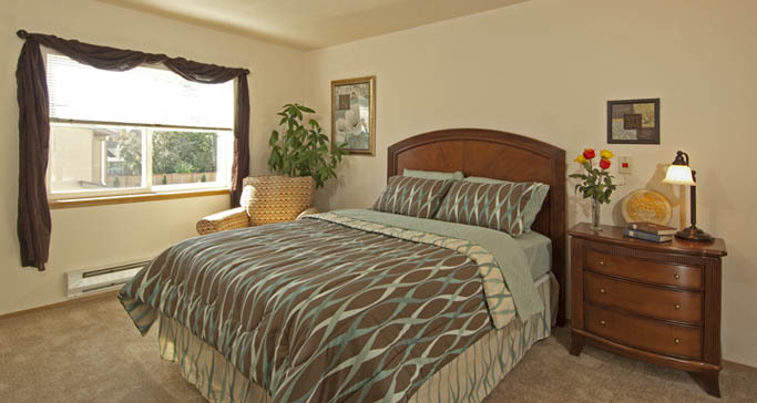 Independent living one bedroom apartment washington GenCare Granite Falls at The Village