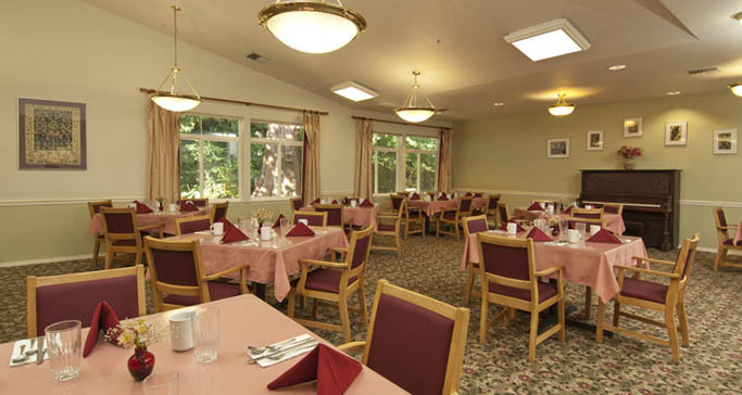 Senior living dining washington GenCare Granite Falls at The Village