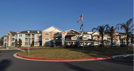 Exterior view Salishan Gracious Retirement Living