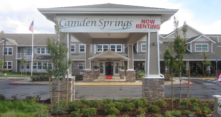 Building picture home Camden Springs Gracious Retirement Living