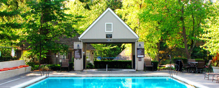 Pool at frank estate