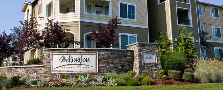 Renting apartments at Millington At Merrill Creek apartments