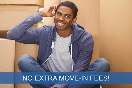 No extra move in fees