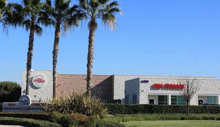 Exterior view of  Dale Street Self Storage in Buena Park, CA