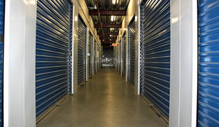 Secure units available at Dale Street Self Storage in California