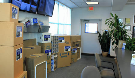 Packing supplies available for purchase at Dale Street Self Storage