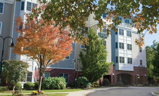 Newton Massachusetts independent senior living at Cabot Park Village