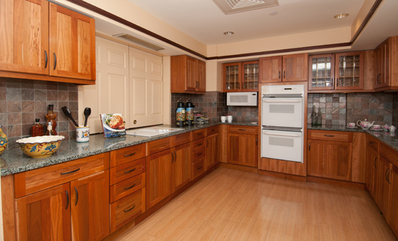 Kitchen for senior living in Newton, MA