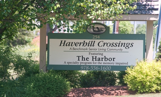 Sign Haverhill Crossings