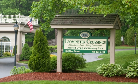 Sign Leominster Crossings