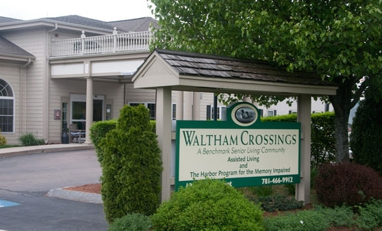 Sign Waltham Crossings