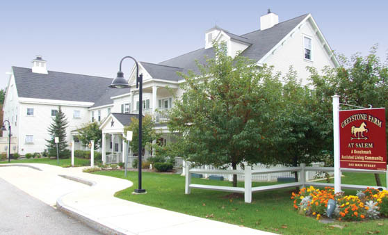 Assisted living at Greystone Farm at Salem, NH