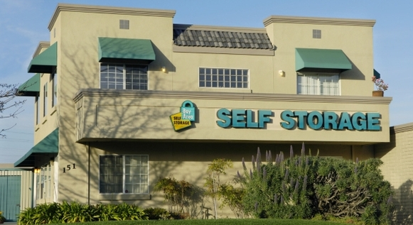 Belmont facility Bay Area Self Storage