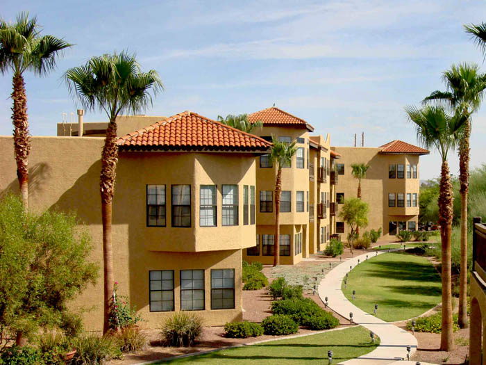 Tucson arizona assisted senior living building Amber Lights