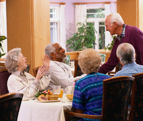Silver Springs in Green Valley, Arizona is an independent and assisted living community