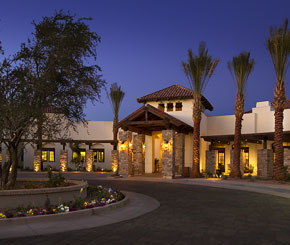 Independent senior living at The Village of Ocotillo in Chandler, Arizona