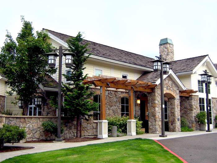 Assisted living wilsonville oregon community entrance SpringRidge Court