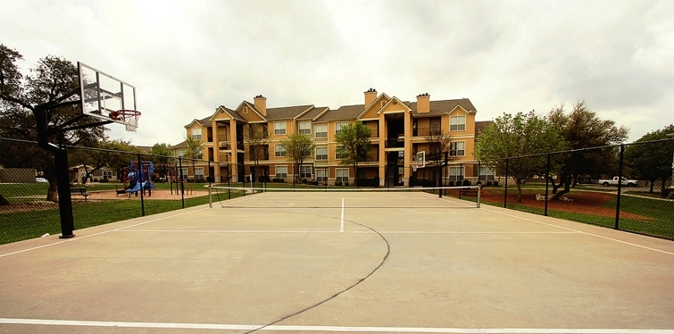 Basketball tennis sport court amenities