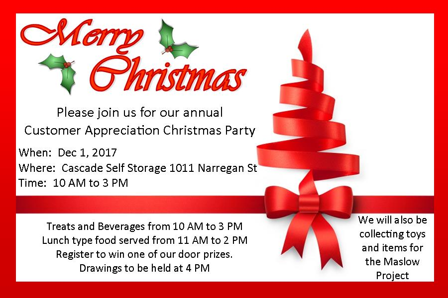 2017 Christmas Invitation