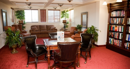 Library resized Meadowlark Estates Gracious Retirement Living