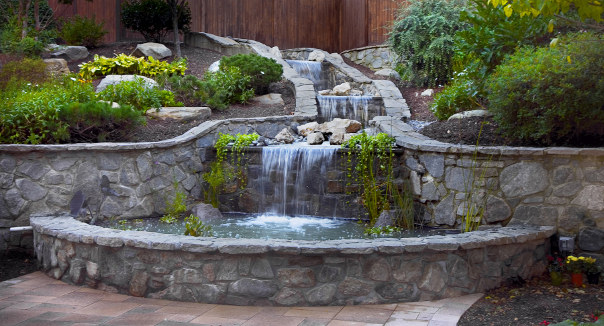 Relaxing fountain at our senior care in Orange, CT 06477