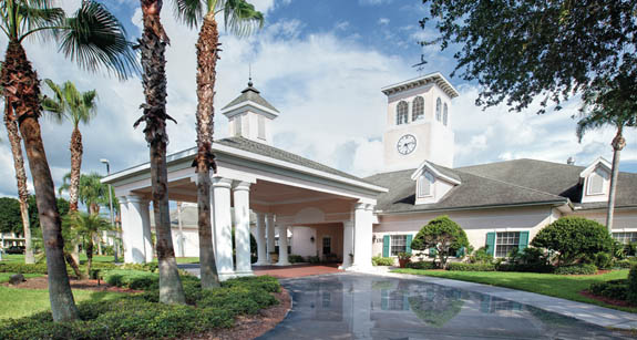 Community clubhouse at Sun City Center retirement community