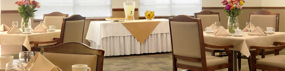 Enjoy Chef of the Month and fine dining at Garden View Care Center of Chesterfield.