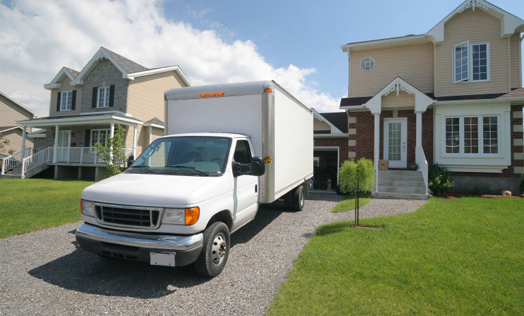 Free moving truck usage at Rolesville Storage