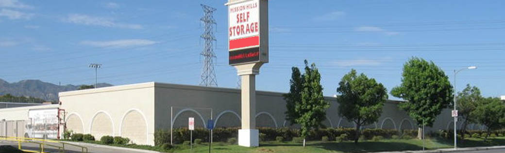 Mission Hills Self Storage building exterior