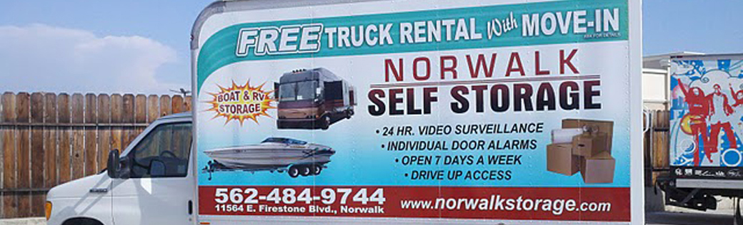 Moving truck Norwalk Self Storage
