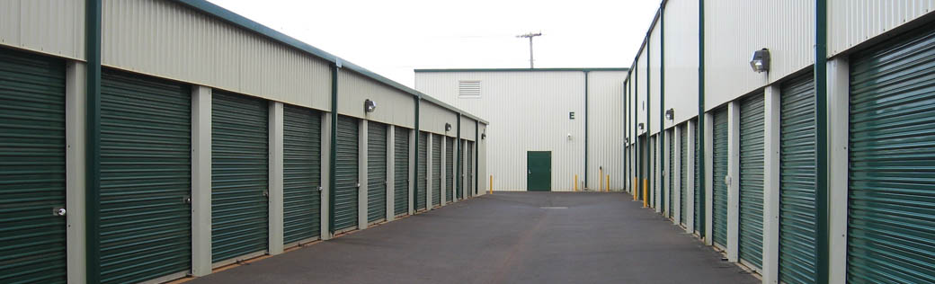Self storage in Lihue, Hawaii exterior units