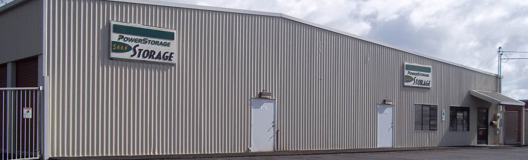 Exterior at Hilo self storage facility