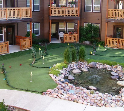 Missoula retirement community putting greens