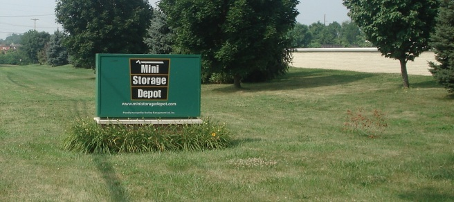 Sign Mini Storage Depot