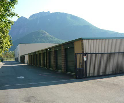 Exterior view CASCADE HEATED SELF STORAGE