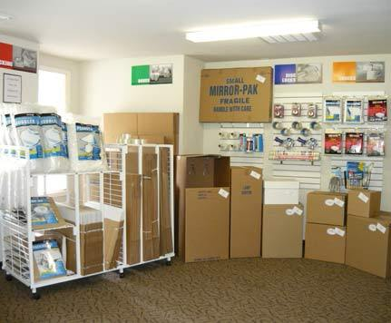 Packing supplies CASCADE HEATED SELF STORAGE