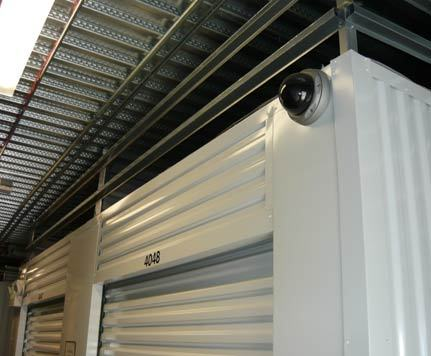 Security camera CASCADE HEATED SELF STORAGE