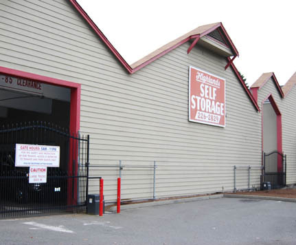 Renton HIGHLAND SELF STORAGE 1