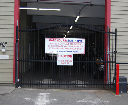 Units RENTON HIGHLAND SELF STORAGE 1