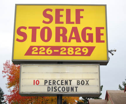 Wa sing RENTON HIGHLAND SELF STORAGE