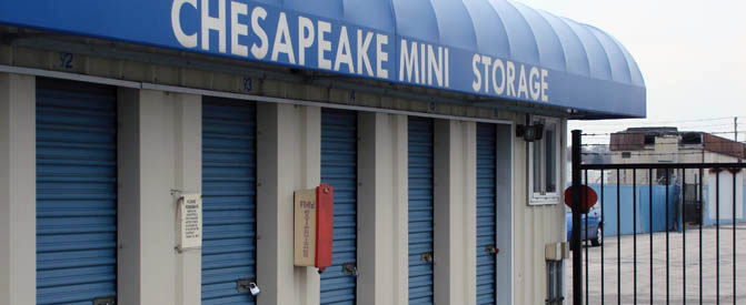 Chesapeake mini storage secure gate