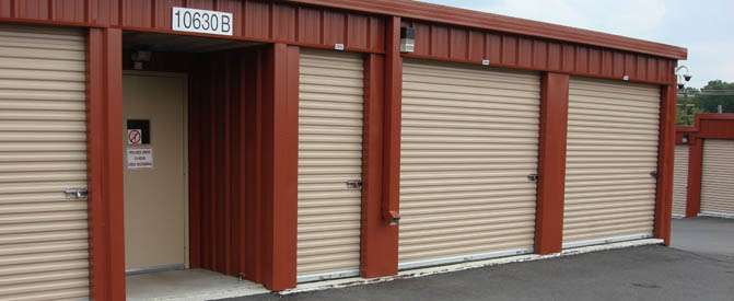Large units at our mini storage in New Market, MD 21774
