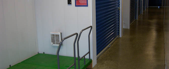 Self Storage Plus provides carts for your convenience