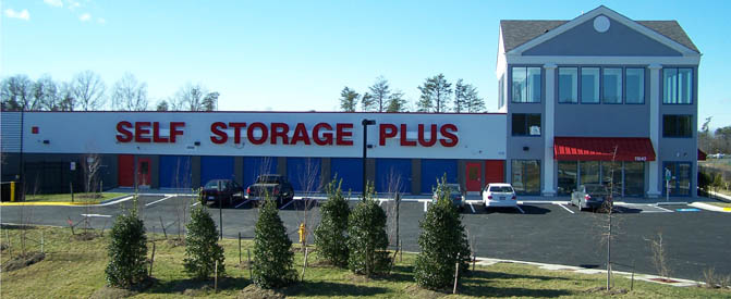 Building exterior at our Manassas self storage facility