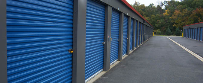 Exterior units at our mini storage in Manassas, VA 20109