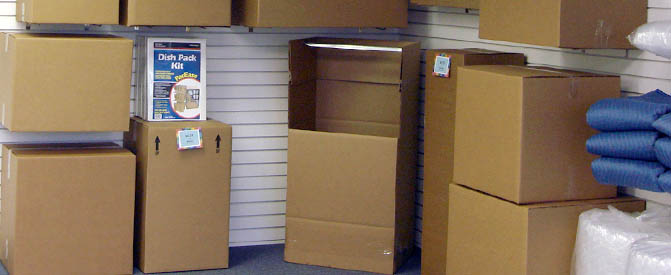 Self storage in Bel Air, MD wide selection of boxes