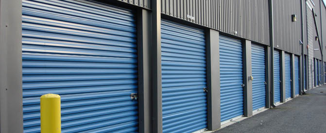 Self Storage Plus exterior units