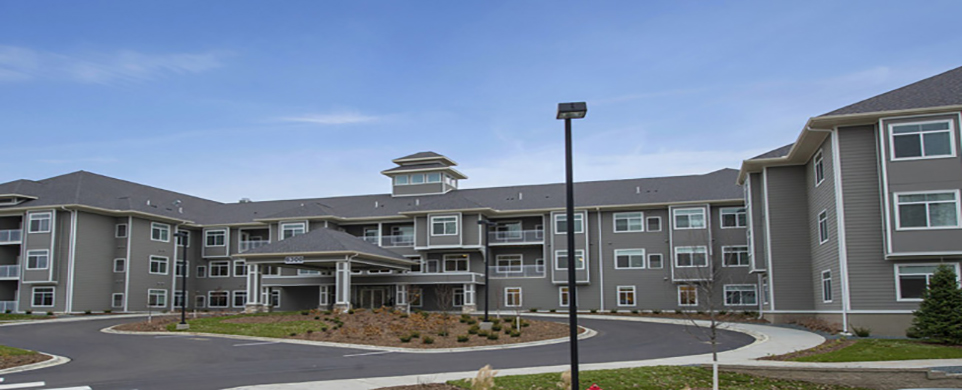 Edina senior living features a beautiful exterior